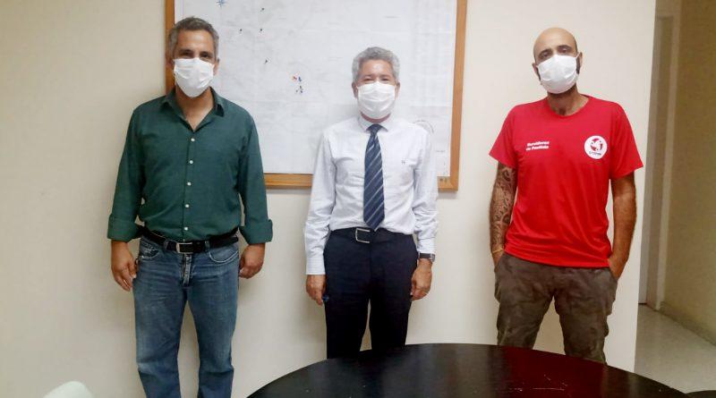 Saúde | Reunião com o secretário Dr. Fábio Alves esclarece sérios apontamentos da Enfermagem