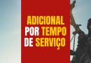 Adicional por Tempo de Serviço | Confira o andamento do processo